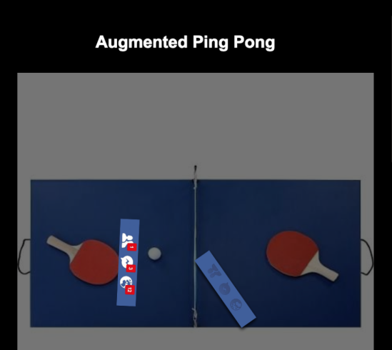 Augmented Ping Pong